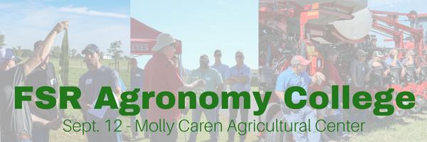 Fsr Agronomy College 2017